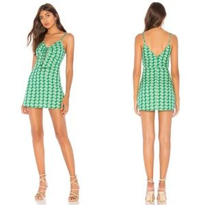 Tularosa Sandra Dress in Kelly Green NWOT